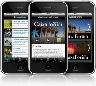 iCaixaForum, aplicación para iPhone y Android de las exposiciones en el CaixaForum