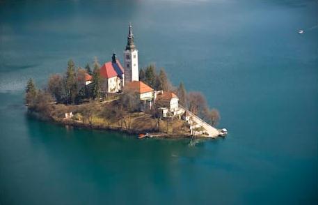 Isla Asunción del Lago Bled
