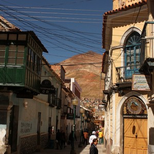 El Cerro Rico de Potosí
