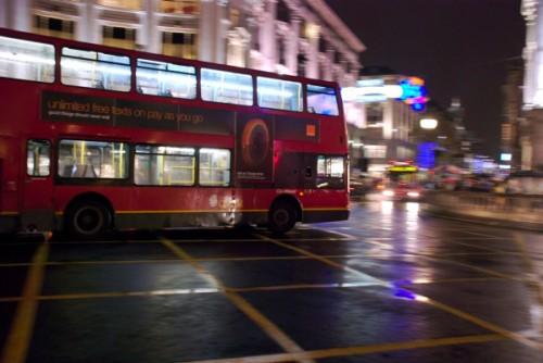 Autobús nocturno de Londres
