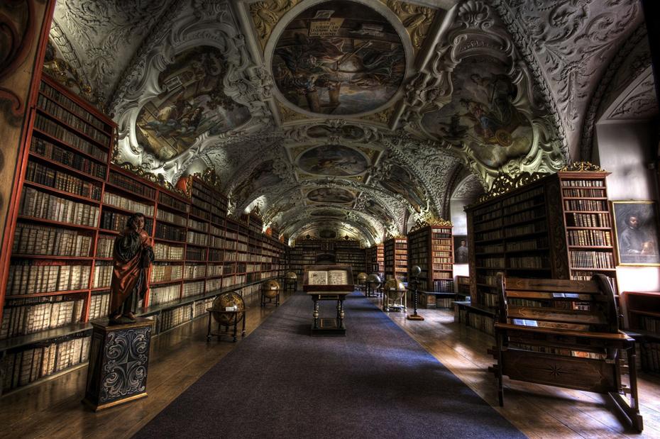 palabras homófonas, biblioteca praga