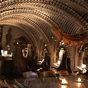 El museo alien de HR Giger de Gruyere