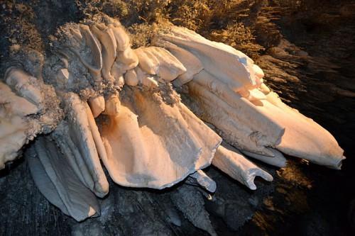 Estalactitas en la cueva de El Soplao @3viajes