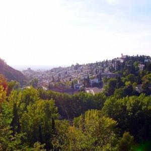 Primavera en las tierras nazaríes de Granada