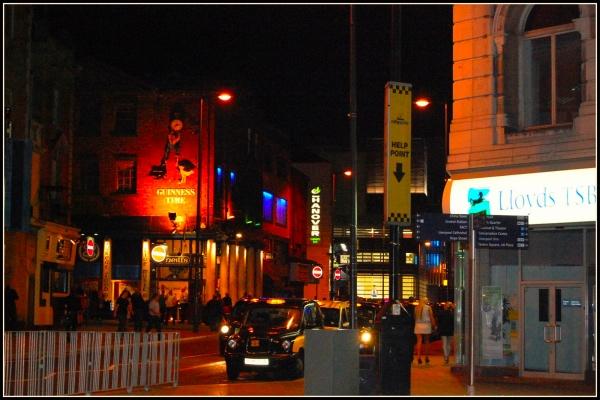 Liverpool Street de noche