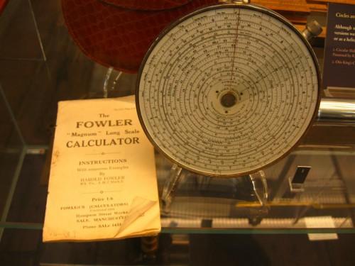 Calculadora de 1898