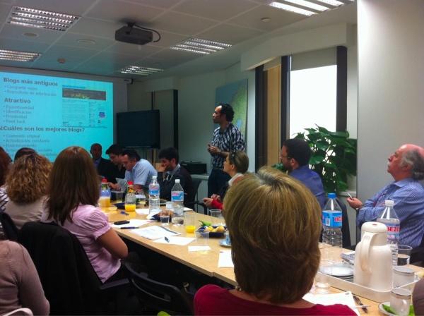 Encuentro de oficinas de turismo con blogs de viaje, Madrid abril 2011