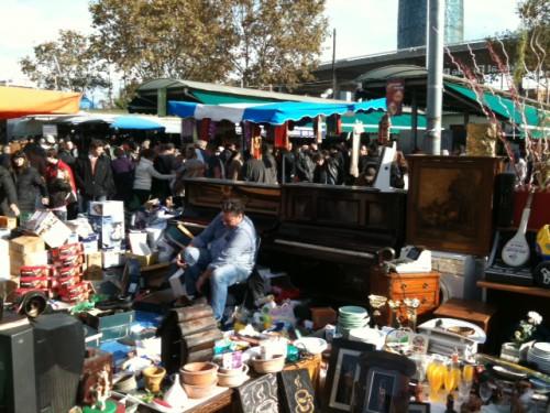 Paseando por el mercado del Bellcaire o Encants Vells