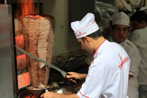 Kebabs en Estambul
