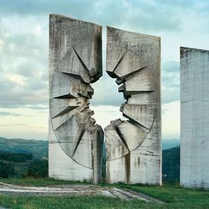 Monumentos comunistas en los Balcanes