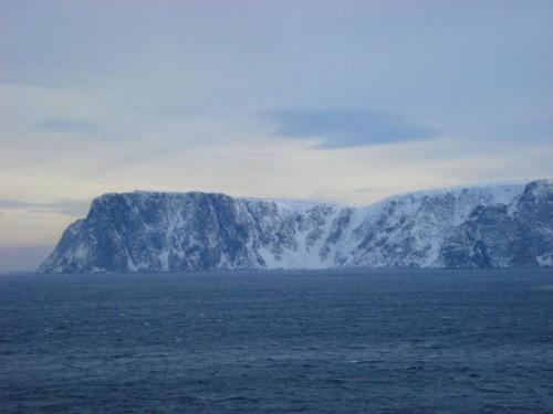 El Cabo Norte en invierno @baldhiker.com