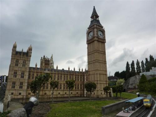 Big Ben y Parlamento británico (Inglaterra)