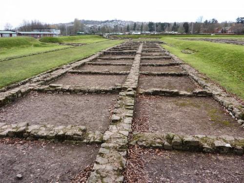 Barracones romanos en Caerleon