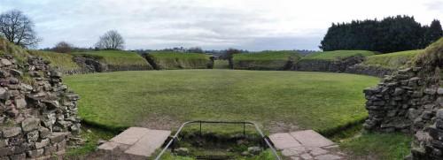 Anfiteatro romano de Caerleon