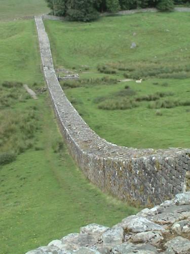 Muro de Adriano (Fuente: Wikimedia commons)