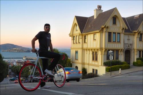 Bicicleta Fixie de San Francisco @xavierverdaguer
