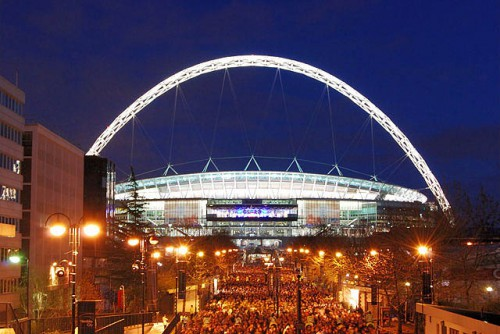 Estadio de Wembley @Wikipedia