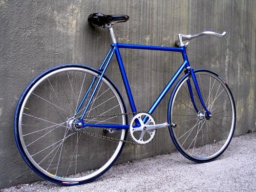 Simplicidad de las fixie bikes