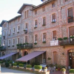 El hotel Bofill en Viladrau