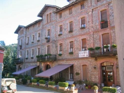 Fachada Hotel Bofill en Viladrau