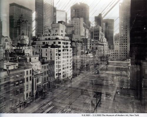 Foto durante la construcción Museo Metropolitano de NYC @ Michael Wesely