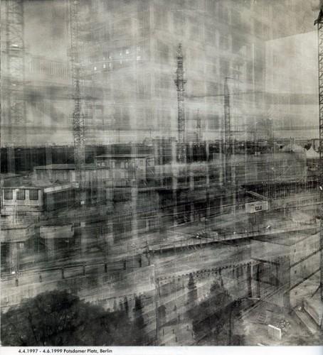 Postdamer Platz de Berlín durante 2 años @Michael Wesely