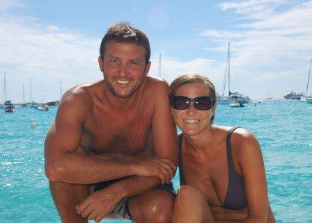 Pedro y Belen decidieron dar la vuelta al mundo y seguir viajando