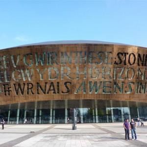 De compras por Cardiff