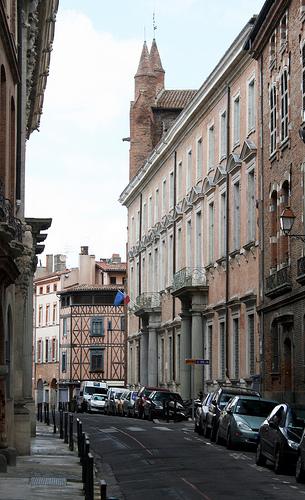 Aguja de un palacete de Toulouse
