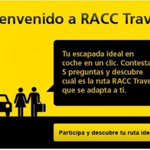 RACC Travel te propone tu ruta de viaje en coche ideal y gana 200€
