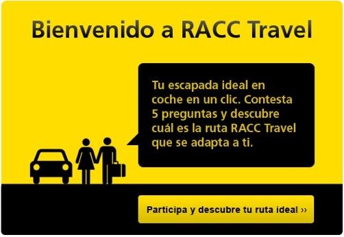 Descubre tu ruta ideal en coche con RACC Travel