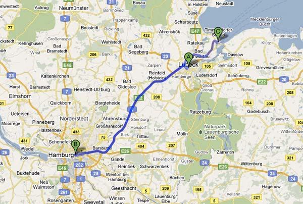 Ruta Lubeck, Hamburgo y Travemünde