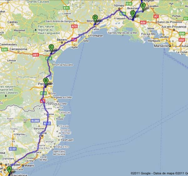 Ruta en coche por la Provenza francesa