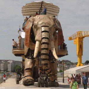 Nantes recrea los monstruos soñados por Julio Verne