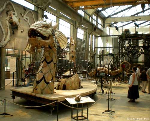 La Serpiente de los Mares en las Máquinas de la Isla de Nantes