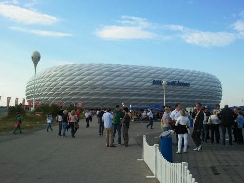 Allianz Arena de Munich antes del partido