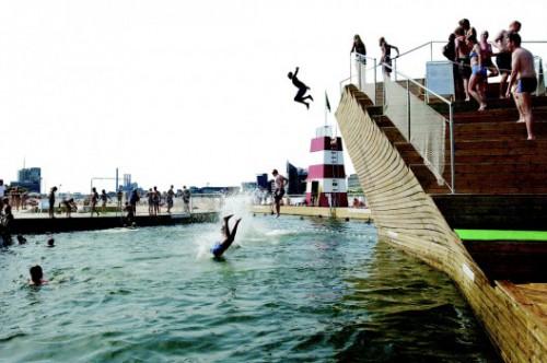 El Harbour Bath de Copenhagen
