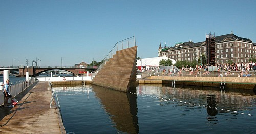 Harbour Bath diseñado por Ingels en Copenhagen (c) JDS Architects