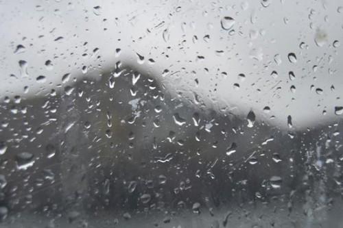 La lluvia, nuestra compañera de viaje