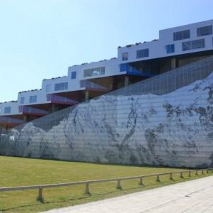 La Montaña de Ingels en Copenhagen