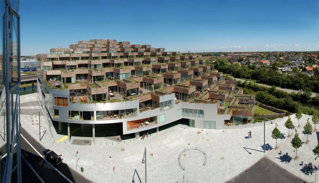 Apartamentos de la monta a de bjarke ingels en copenhagen - Apartamentos de montana ...
