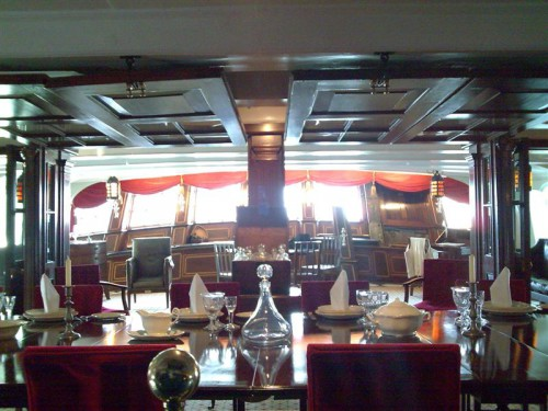 Camarote del Capitán Nelson en el HMS Victory