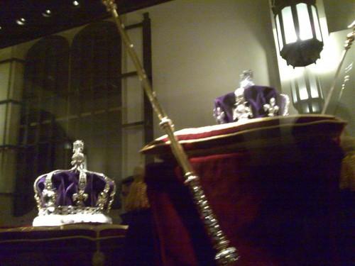 Joyas de la Corona Inglesa en la Torre de Londres