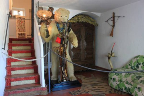 Entrada de la Casa de Dalí en Portlligat