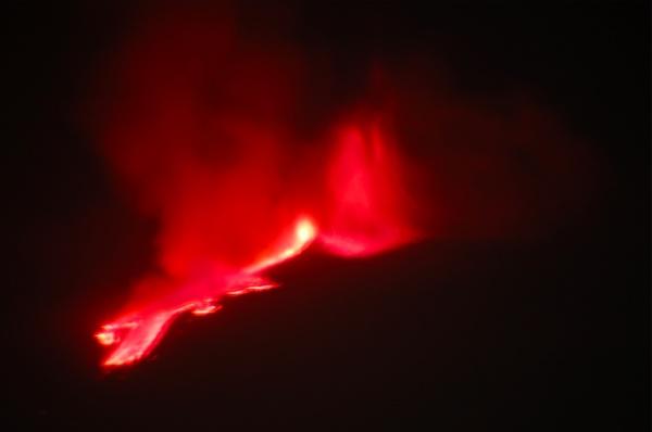 El volcán Etna y su erupción más turística