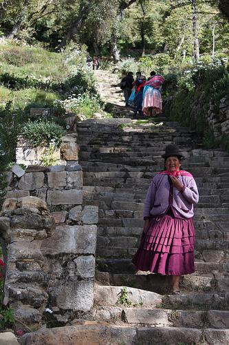 Escalinata inca de Yumani