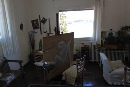 Estudio de Salvador Dalí en Portlligat