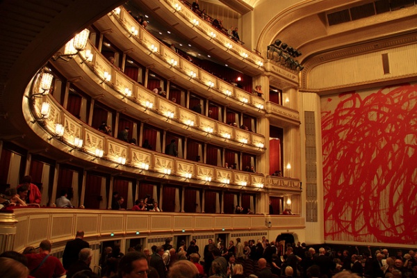 Palcos de la Ópera de Viena