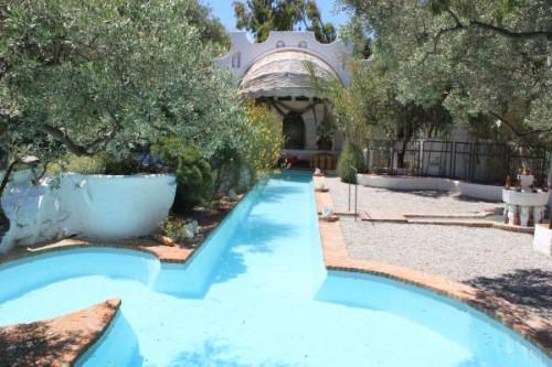 Piscina de la Casa Dalí en Portlligat