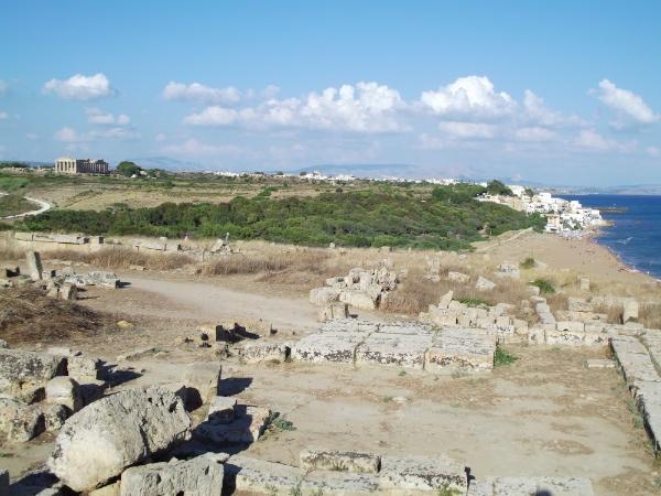 Selinunte, templos dóricos y playa